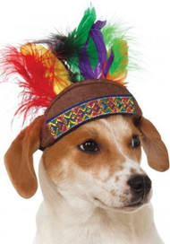 Dog Indian Fancy Dress Headdress