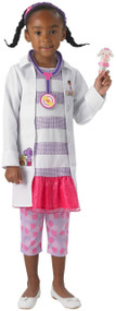 Girls Deluxe Doc McStuffins Fancy Dress Costume
