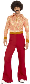 Mens Authentic 70s Guy Fancy Dress Costume
