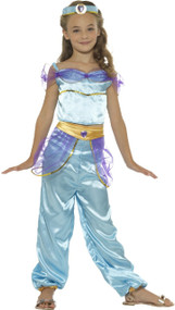 Girls Arabian Princess Fancy Dress Costume 1