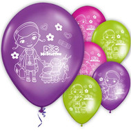 "Doc Mcstuffins 11"" Latex Party Balloons"