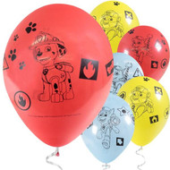 "Paw Patrol 11"" Latex Party Balloons"