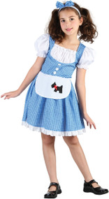 Girls Sweet Dorothy Fancy Dress Costume