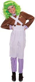 Child's  Factory Worker Fancy Dress Costume