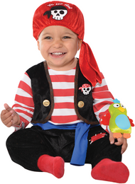 Baby Buccaneer Fancy Dress Costume