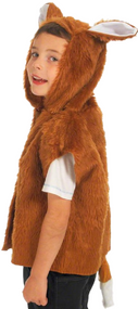 Child's  Fox Tabard Fancy Dress Costume