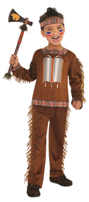 Child's  Native American Fancy Dress Costume