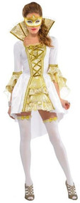 Ladies Venezia Masquerade Fancy Dress Costume