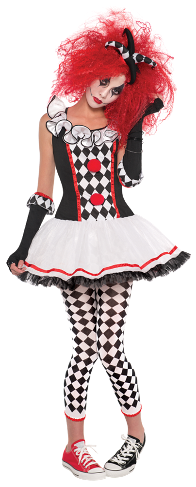 3bf9129a4cd7f Ladies Harlequin Honey Jester Fancy Dress Costume - Fancy Me Limited