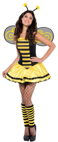 Ladies Bumble Bee Beauty Fancy Dress Costume
