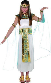 Girls Cleopatra Egyptian Fancy Dress Costume