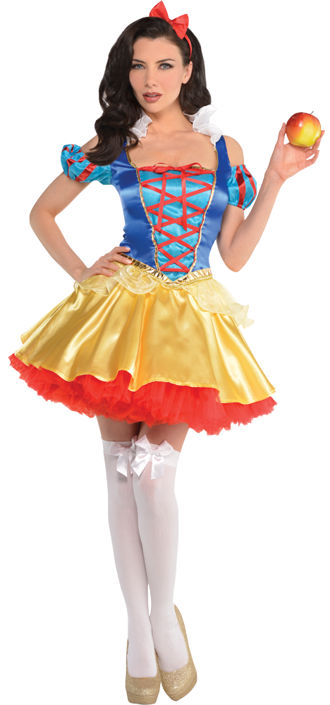SNOW WHITE FANCY DRESS COSTUME BY CALIFORNIA COSTUME OUTFIT  SIZE UK 8