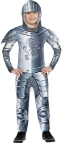 Boys Armoured Knight Fancy Dress Costume