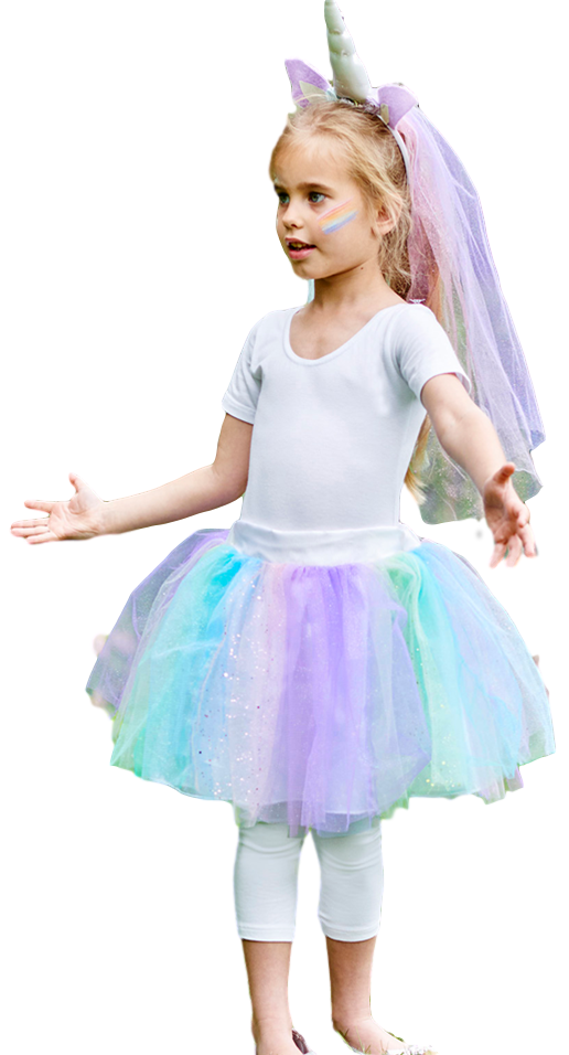 8799951258f64 Girls Sparkling Unicorn Fancy Dress Costume. Previous. Image 1 Click to  view full size image  Image 2