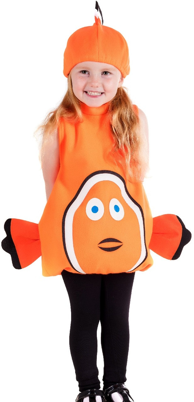 Toddler Clown Fish Fancy Dress Costume Fancy Me Limited