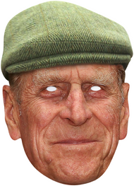 Casual Prince Philip Fancy Dress Mask