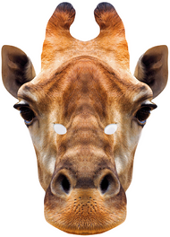 Giraffe Fancy Dress Mask