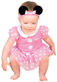 Baby Official Minnie Mouse Fancy Dress Costume