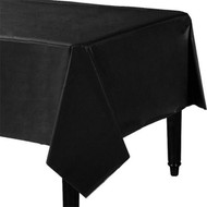 Black Party Tablecover