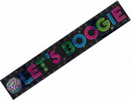70s Disco Fever Large 25ft Party Banner