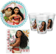Disney Moana Party Tableware Set