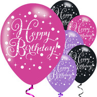 Pink Mix Birthday Party Balloons