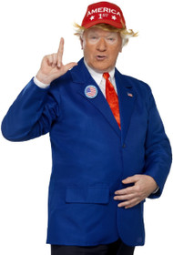 Mens President Trump Fancy Dress Costume