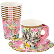 Floral Vintage Alice Party Cups