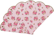 Floral Vintage Pink Party Napkins