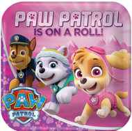 Pink Paw Patrol Party Plates