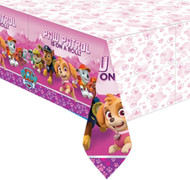 Pink Paw Patrol Party Tablecover