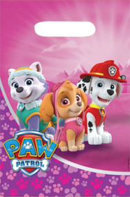 Pink Paw Patrol Party Bags