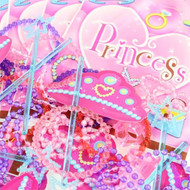 Princess Party Bags & Fillers - 48 Pack