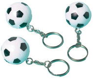 Football Keyring Party Bag Fillers - 12 Pack