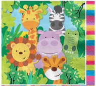 Animal Friends Party Napkins