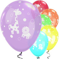 Jungle Animals Party Balloons