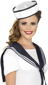 Ladies Instant Sailor Fancy Dress Costume Kit