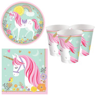Magical Unicorn Party Tableware Set