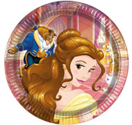 Beauty & The Beast Party Plates