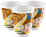 Beauty & The Beast Party Cups