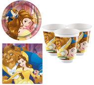 Beauty & The Beast Party Tableware Set