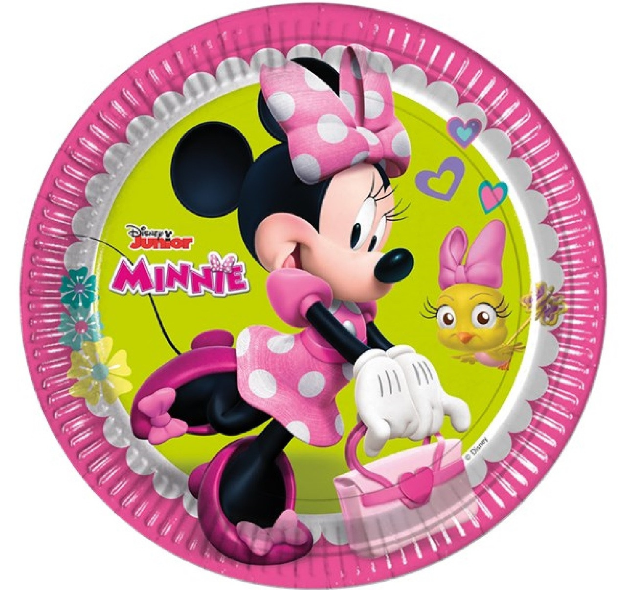 Party Supplies Disney Minnie Mouse Bowtique Childrens Birthday Tableware Pack For 16 By Balloons And