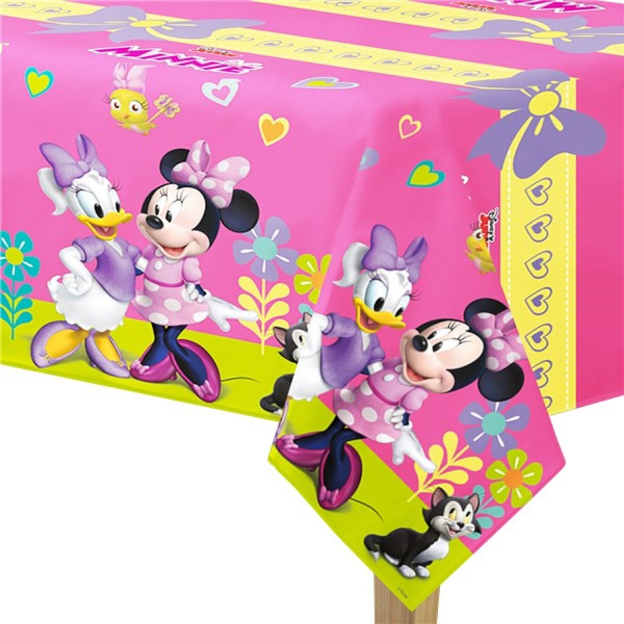 Disney Minnie Mouse Party Tablecover. Image 1  sc 1 st  Fancy Me Limited & Disney Minnie Mouse Party Tablecover - Fancy Me Limited