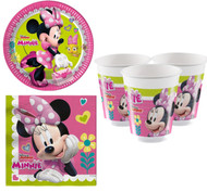 Disney Minnie Mouse Party Tableware Set