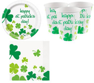 St Patricks Day Party Tableware Set