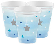 Blue Star Party Cups