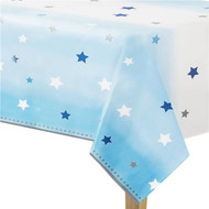 Blue Star Party Tablecover