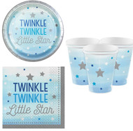 Blue Star Party Tableware Set