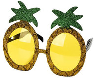 Adults Glittery Pineapple Fancy Dress Glasses