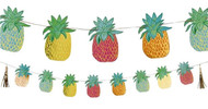 Pineapple Party Bunting Decoration